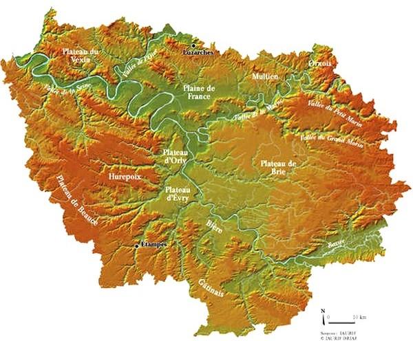 le Hurepoix en ÃŽle-de-France (IAURIF)