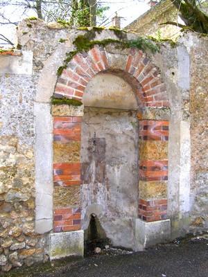 La fontaine Roussin