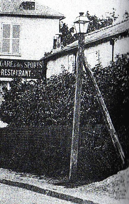 Lanterne de la route de Rambouillet